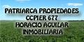Telefono Patriarca Propiedades – Ccpier 677 – Horacio Aguilar – Inmobiliaria